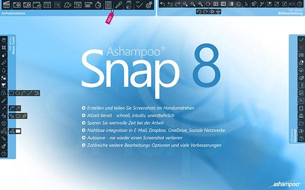 ashampoo snap 8 mehr als nur einfache screenshots - Ashampoo Snap 8 – Mehr als nur einfache Screenshots