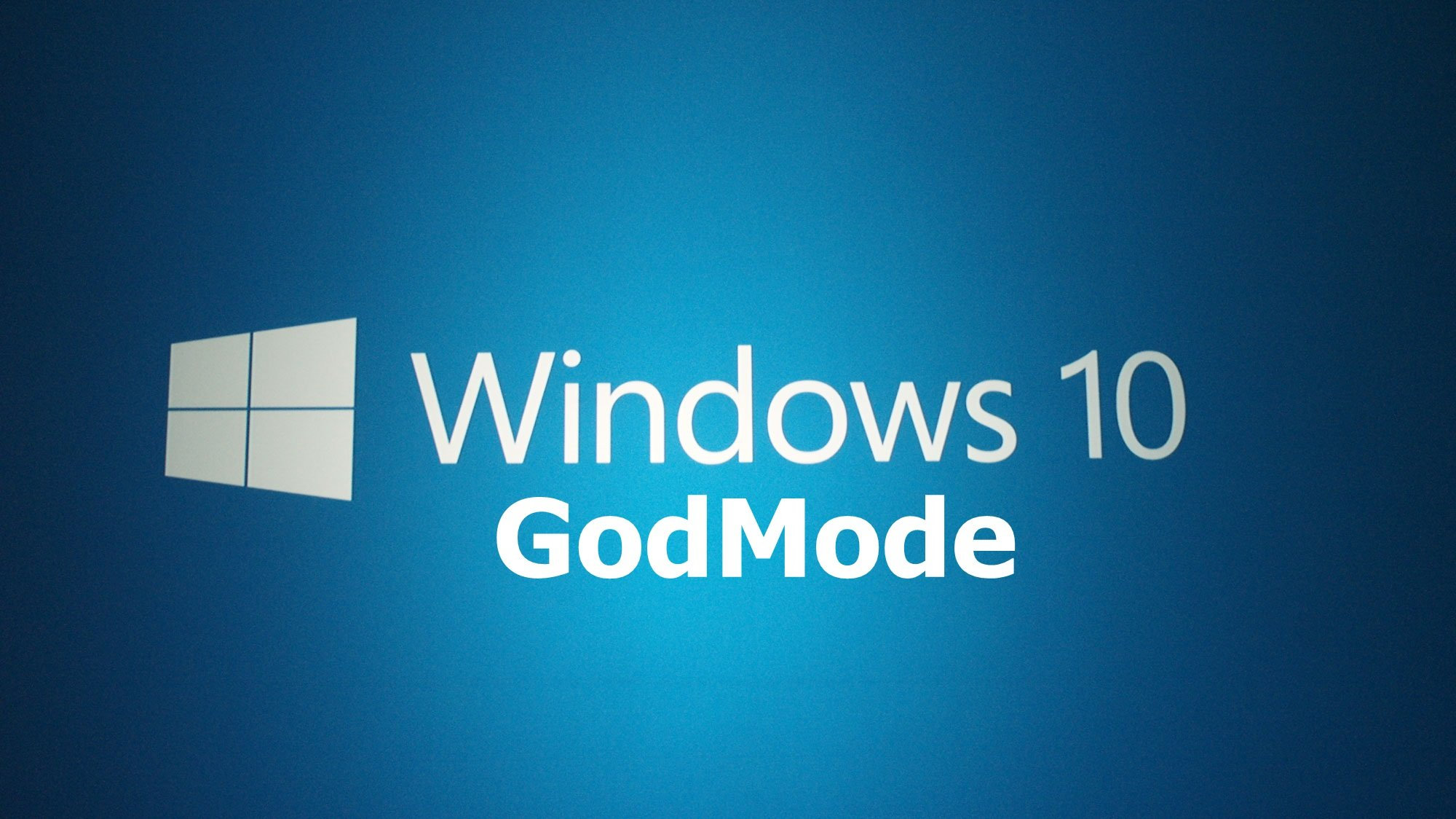 dd9ab6976292d5f4b58fa4fb56a6040d - Windows 10 God Mode
