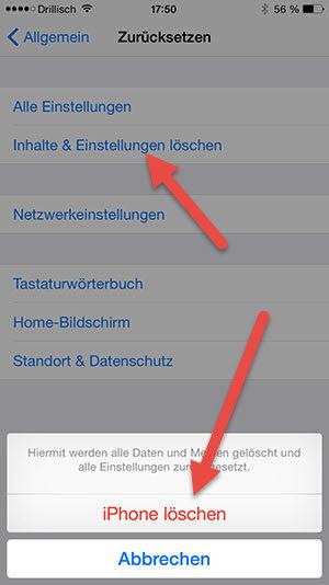 iPhone-loeschen iphone-loeschen