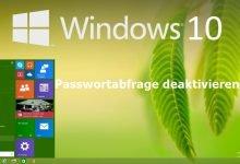 Photo of Windows 10 Passwortabfrage deaktivieren