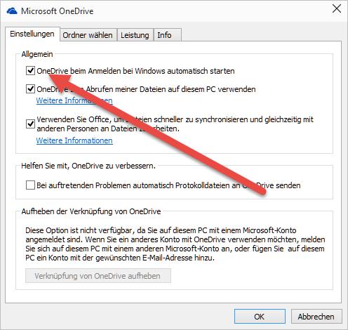 OneDrive beim Anmelden bei Windows automatisch starten onedrive-beim-anmelden-bei-windows-automatisch-starten