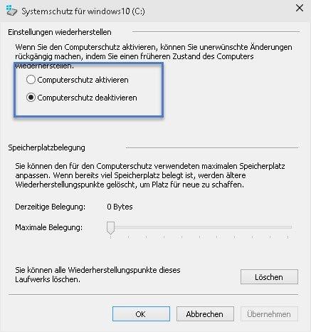 computerschutz-aktivieren-deaktivieren