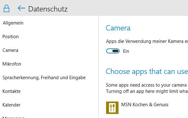 camera webcam windows 10 - Webcam Camera bei Windows 10 aktivieren