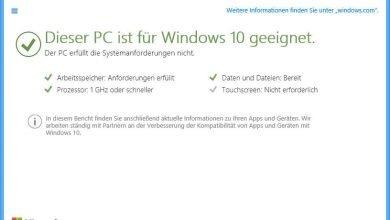 dieser pc ist fuer windows 10 geeignet 390x220 - Überprüfen Sie ob Windows 10 auf Ihren PC läuft