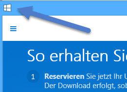 drei Strichen Überprüfen Sie ob Windows 10 auf Ihren PC läuft