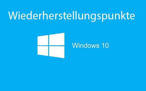 wiederherstellungspunkte windows 10 - Wiederherstellungspunkte aktivieren deaktivieren bei Windows 10