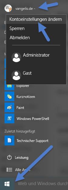 windows-1-kontoeinstellungen windows-1-kontoeinstellungen