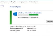 Photo of Windows 10 Update beschleunigen
