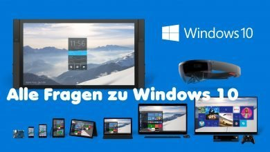 Alle Fragen zu Windows 10