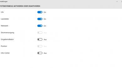 unbenannt2 390x220 - Windows 10 Benachrichtigungscenter deaktivieren