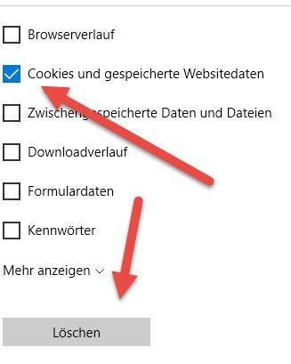 Cookies und gespeicherte Websitedaten cookies-und-gespeicherte-websitedaten