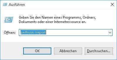 perfmon report perfmon-report