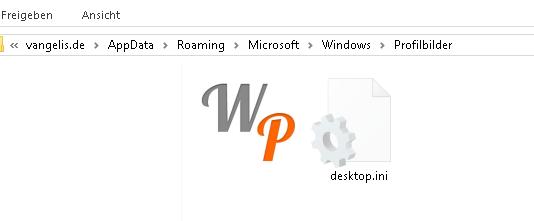 profilbilder Wo speichert Windows 10 die Profilbilder?