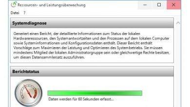 systemdiagnose mit eigene bordmitteln erstellen beim windows 10 390x220 - Systemdiagnose mit eigene Bordmitteln erstellen