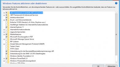 Versteckte Funktionen von Windows 10 aktivieren