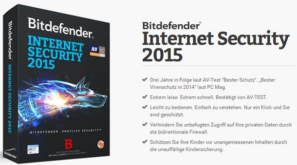 bitdefender internet security 2015 kostenlos - Bitdefender Internet Security 2015 kostenlos zum Testen
