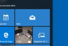 Photo of Größe der Kacheln ändern bei Windows 10