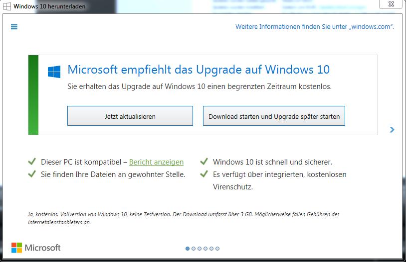 unbenannt - Windows 10 Update Meldung deaktivieren