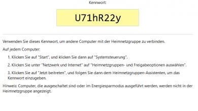 heimnetzgruppen passwort 390x220 - Wo finde ich mein Heimnetzgruppen-Kennwort?
