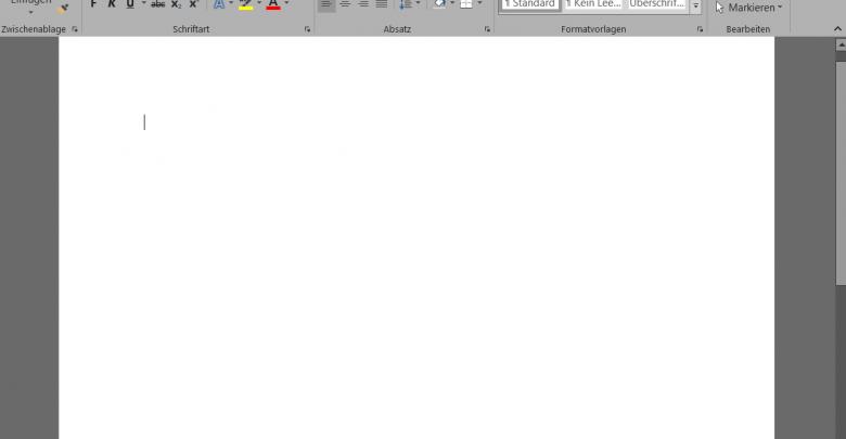 office dunklegrau 780x405 - Microsoft Office 2016 im dunklen Design