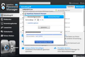 SuperEasy Password Manager PRO passwort generator