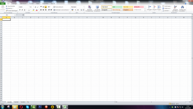 Bild von Office Excel Filter setzen und Zeile fixieren