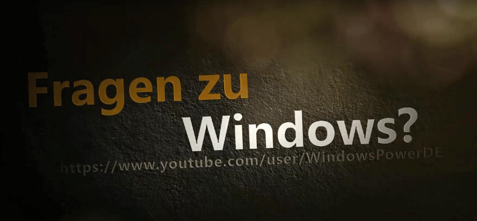 WindowspowerDE