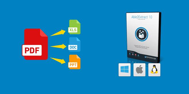 able2extract pdf converter 10 der beste pdf konvertern - Able2Extract PDF Converter 10 - Der Beste PDF-Konvertern- 2 Lizenzen zu Gewinnen