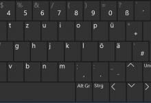 bildschirmtastatur windows 10 220x150 - Bildschirmtastatur bei Windows 10 aktivieren