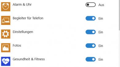 hintergrund apps deaktivieren schliessen 390x220 - Hintergrund-Apps deaktivieren bei Windows 10
