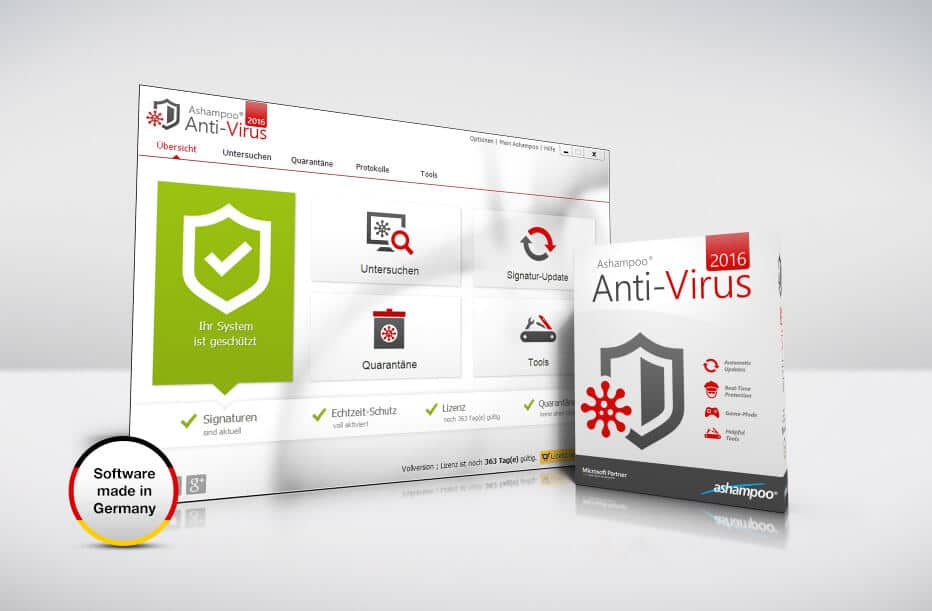 scr ashampoo anti virus submitting - Ashampoo Anti-Virus 2016 - Keine Chance für Schadprogramme
