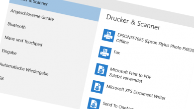 standarddrucker festlegen bei windows 10 390x220 - Standarddrucker festlegen bei Windows 10
