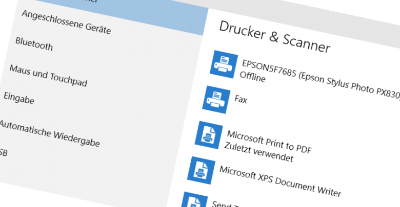 standarddrucker festlegen bei windows 10 780x405 - Standarddrucker festlegen bei Windows 10