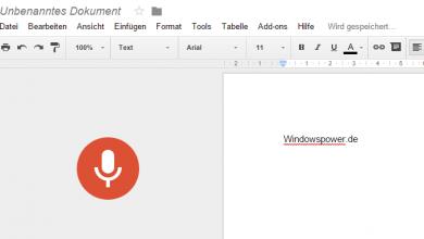 text 390x220 - Google Docs: Jetzt mit Spracherkennung - so geht's