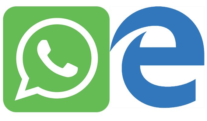 whatsapp web jetzt auch mit microsoft edge - WhatsApp Web jetzt auch mit Microsoft Edge