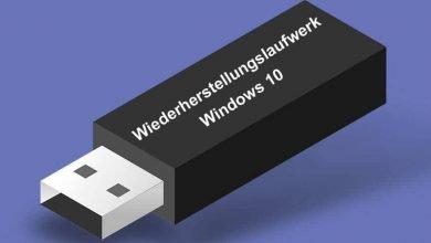 wiederherstellungslaufwerk windows 10 390x220 - Wiederherstellungslaufwerk erstellen bei Windows 10