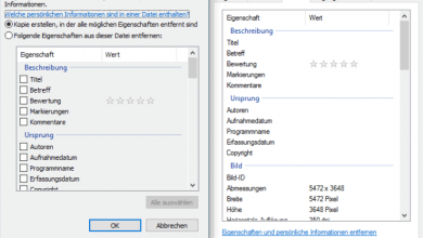 unbenannt 2 390x220 - Windows 10: Persönliche Daten aus Fotos löschen