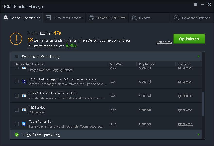 Optimiert das System Advanced SystemCare – Windows Optimierung und mehr + 3 Lizenzen zu Gewinnen