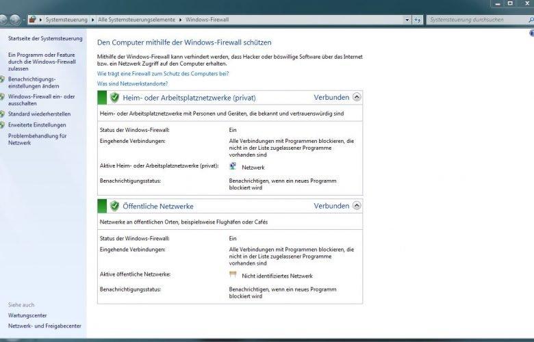 unbenannt 780x500 - Windows 7 Firewall mit nur 1 Klick deaktivieren/aktivieren