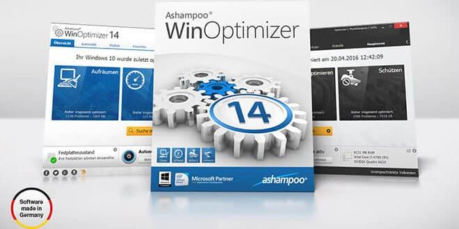 ashampoo winoptimizer 14 - Ashampoo WinOptimizer 14 Windows-Optimierung + 10 Lizenzen zu gewinnen