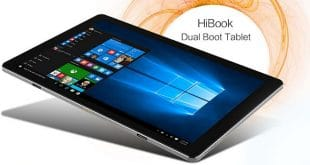 chuwi hibook 310x165 - CHUWI HiBook Ultrabook Tablet mit Windows 10 und Android