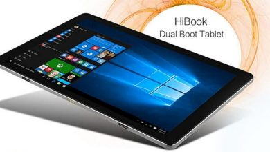CHUWI HiBook Ultrabook Tablet mit Windows 10 und Android