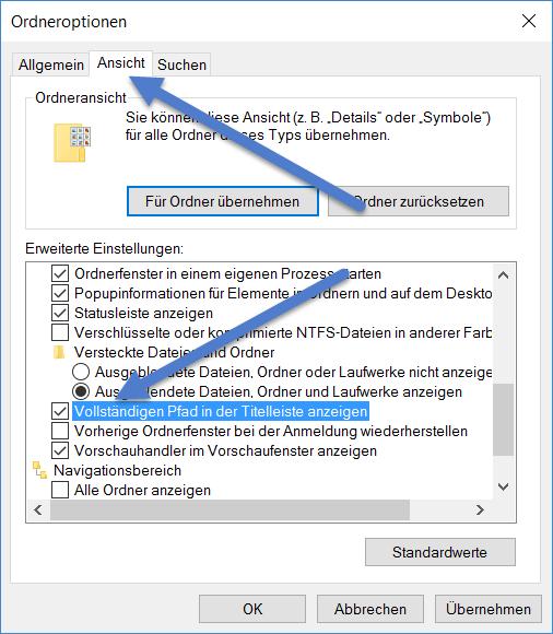 Vollstaendigen Pfad in der Titelleiste anzeigen vollstaendigen-pfad-in-der-titelleiste-anzeigen