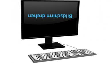 bildschirm drehen 390x220 - Windows 10: Bildschirm schneller drehen