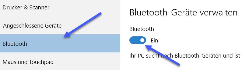 bluetooth-geraete-verwalten bluetooth geraete verwalten - Windows 10 Bluetooth Geräte verbinden und Trennen