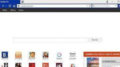 httpmysites123 com 390x220 - Mysites123.com Browser-Hijacker entfernen