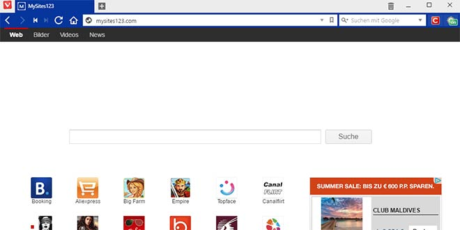 httpmysites123 com - Mysites123.com Browser-Hijacker entfernen