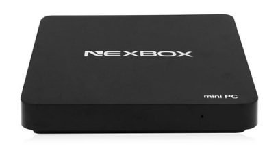 nexbox t10 windows10 390x220 - NEXBOX T10 Mini PC mit Windows 10