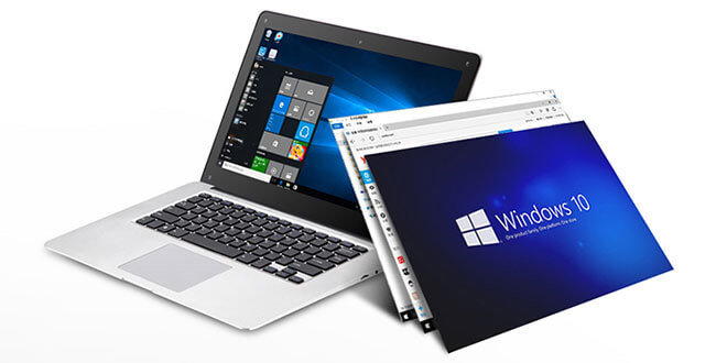 pipo work w9s - PiPO Work-W9S Laptop mit Windows 10 für ca. 170$
