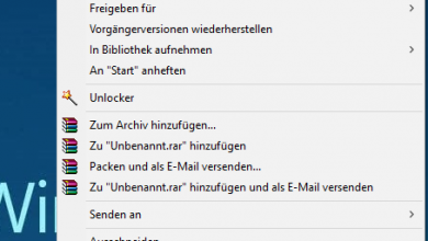 Windows 10 Kontextmenü wie in Windows 7 Anzeigen lassen